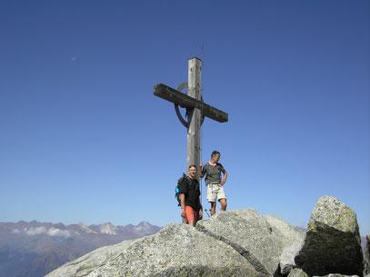 Am Ifinger Gipfel