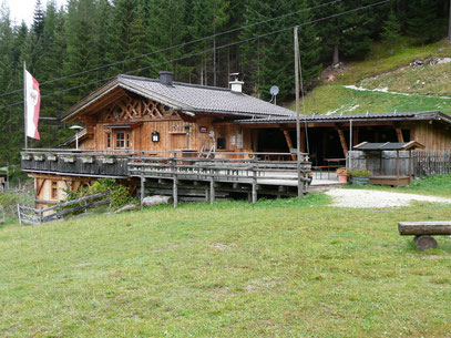 Die Ganghofer Hütte