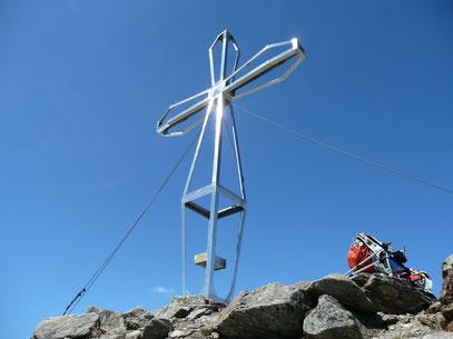 Gipfelkreuz der Seebodenspitze