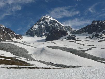 Königsspitze mit Zustiegsweg