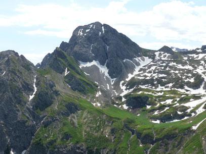 Die Hochkünzelspitze.Gesehen vom Toblermannskopf