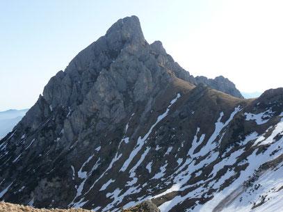 Große Gehrenspitze vom Sabachjoch gesehen