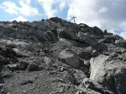 Gipfelbereich der Großen Leiterspitze
