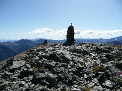 Panoramablick von der Mutegrubspitze