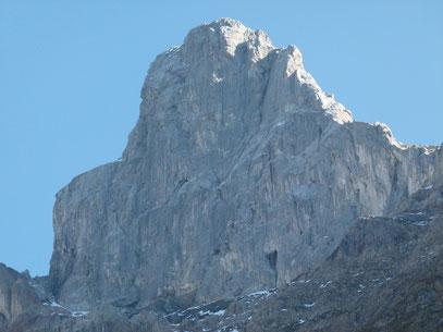 Holzgauer Wetterspitze beim Abstieg durchs Sulzltal