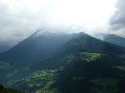 Blick zur Matatzspitze vom Pfistradtal