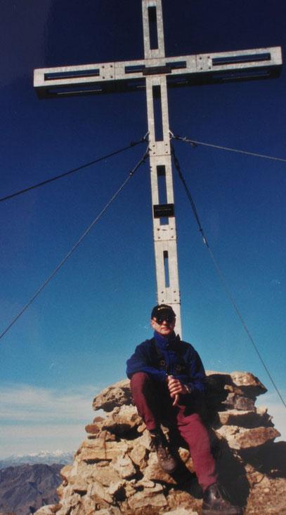 Am Gipfel der Similaun