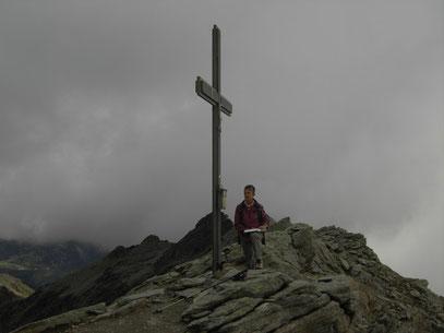 Am Gipfel der Kolbenspitze