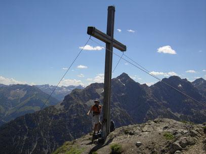Am Gipfel der Grubachspitze