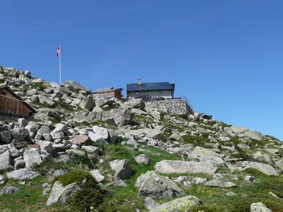 Die Bovalhütte