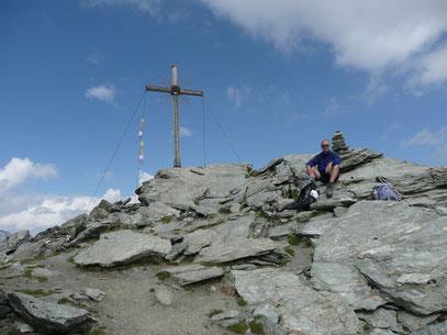 Am Gipfel der Madritschspitze
