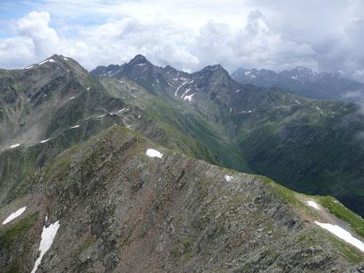 Ausblick von der Alpenspitze