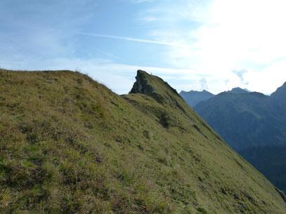 Gipfelgrat zur Unspitze