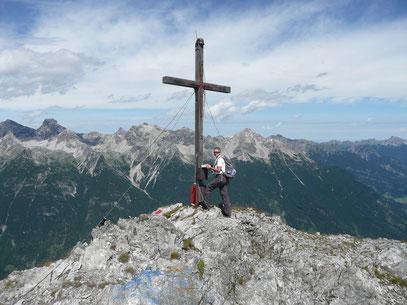Am Gipfel der Lichtspitze