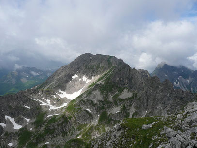 Walser Geißhorn vom Angererkopf gesehen