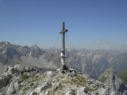 Am Gipfel des Maldongrat