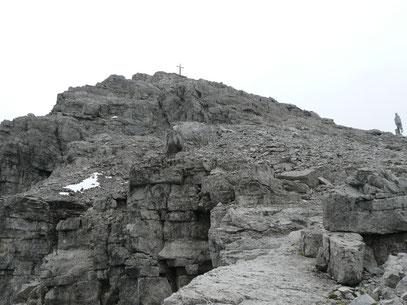 Aufstiegsgelände an der Rüfispitze