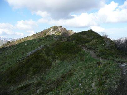 Höhenweg Richtung Lüchlekopf