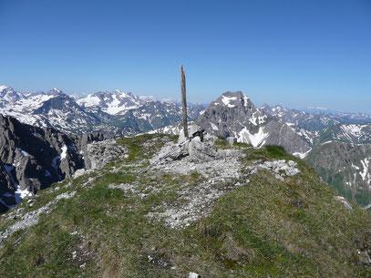 Gipfelschau vom Liechelkopf