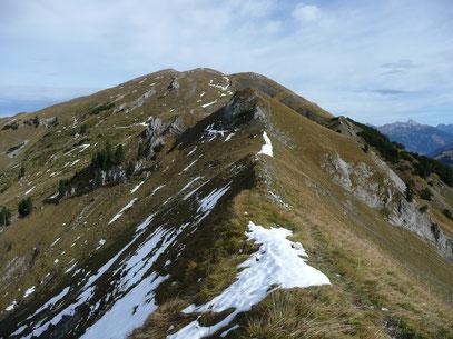 Galtjoch mit Reuttener Höhenweg