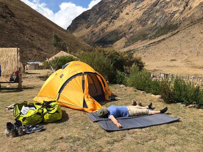 Wandern in Peru mit PERUline