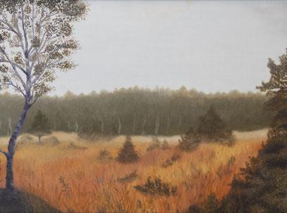 Herbst im Moor II – Beatrix Fleischmann