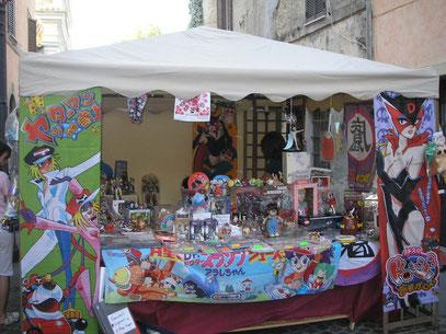Il nostro stand a Manziana Comics 2009