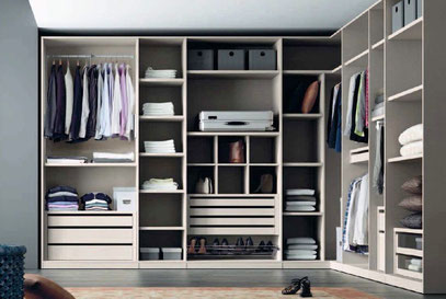 Closets y walk in closet modernos mr muebles modulares for Modelos de walk in closet