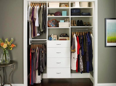 Closets y walk in closet modernos mr muebles modulares - Cajoneras para ropa ...