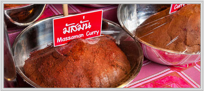 Massaman Currypaste in Schale