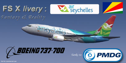 FSX LIVERIES BOEING DOWNLOAD 737-700 AIR SEYCHELLES