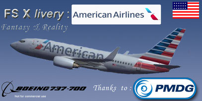 FSX FREE BOEING DOWNLOAD 737-700 AMERICAN AIRLINES