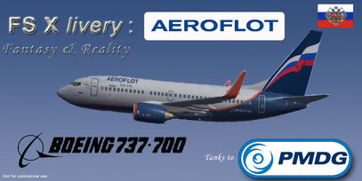 FSX FREE BOEING DOWNLOAD 737-700 AEREOFLOT