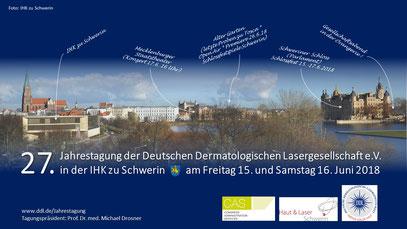 Ausrichtungsort der DDL-Jahrestagung ist diesmal das schöne Schwerin, die Stadt der– je nach Zählung– sieben oder auch zwölf Seen.