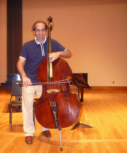 "STEFANO SCIASCIA and ""HIS"" Karr/Koussevitzky double bass !!"