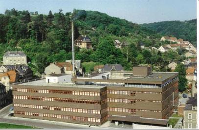 .....   Das Produktionsgebäude 1990