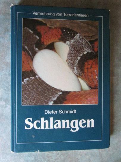 Dieter Schmidt /Schlangen/Urania  Verlag