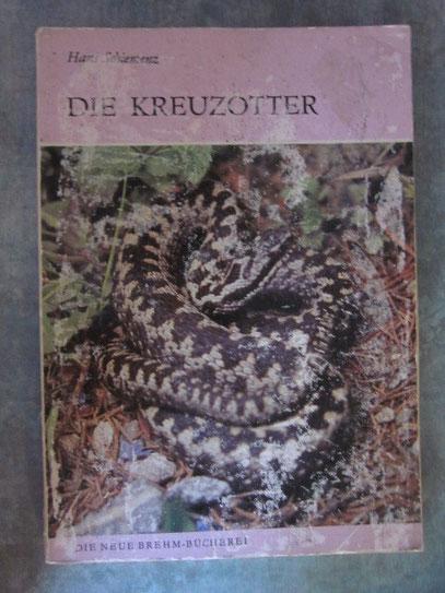 Hans Schiemenz/Die Kreuzotter/Die Neue Brehm-Bücherei