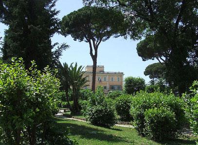 Villa Celimontana Roma - Licenza (CC) WikiMedia