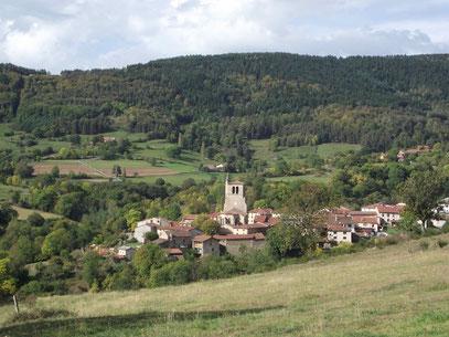 Vue de Saint-Just-en-Bas