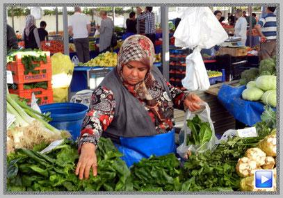 Bauernmarkt in Kemer/TR