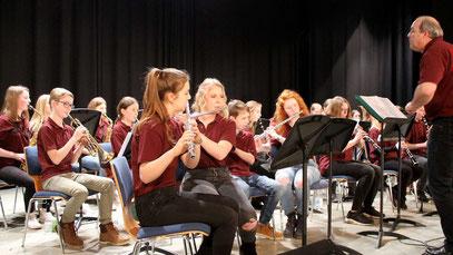 Das Jugendblasorchester des GaW © Haubrock-Kriedel