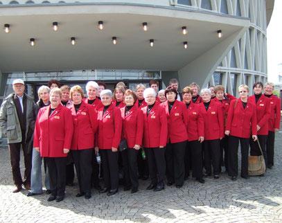 Foto nach dem Auftritt beim Grand Prix der Chöre in Köln 2008.