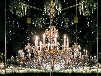Wunderkammer Yayoi Kusama ©Swarovski Kristallwelten