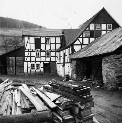 Mahl- und Sägemühle in Sallinghausen (Foto: um 1950)