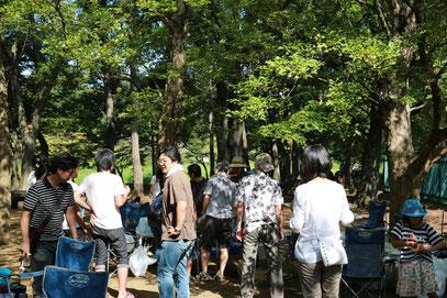 都立武蔵野公園にて(2013. 8.31)