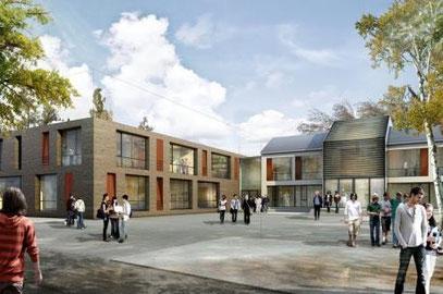 Entwurf der BKS Architekten Hamburg