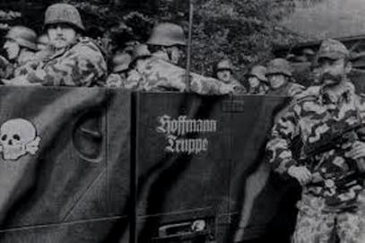 """Paramilitære nazier fra """"Wehrsportgruppe Hoffmann"""""""