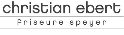 christian ebert - friseure speyer // logo