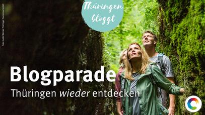 """Banner der Blogparade """"Thüringen wieder entdecken"""""""